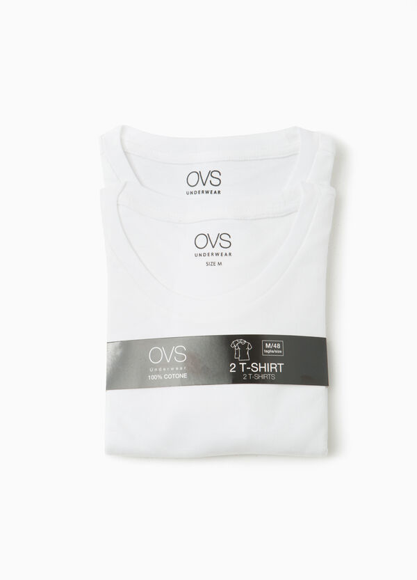 Set due t-shirt intime cotone | OVS