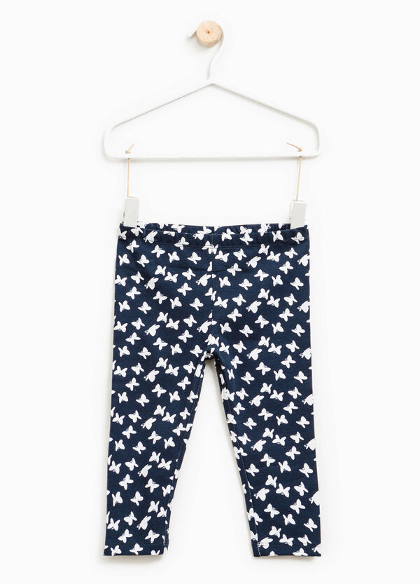 Two-pack trousers solid colour and patterned | OVS
