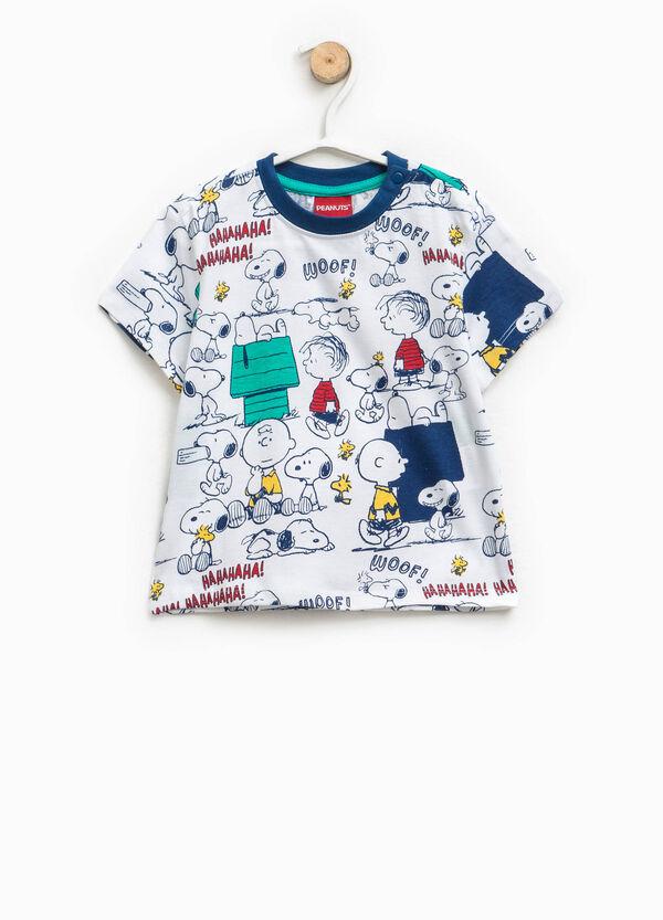 100% cotton T-shirt with Peanuts print | OVS