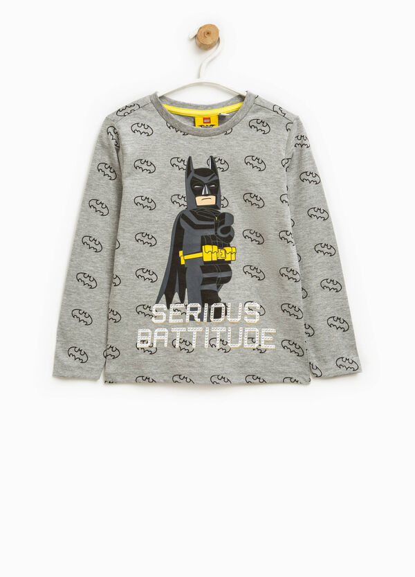 Patterned T-shirt with Batman print | OVS