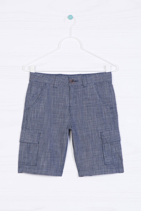 Bermuda shorts with large pockets   OVS