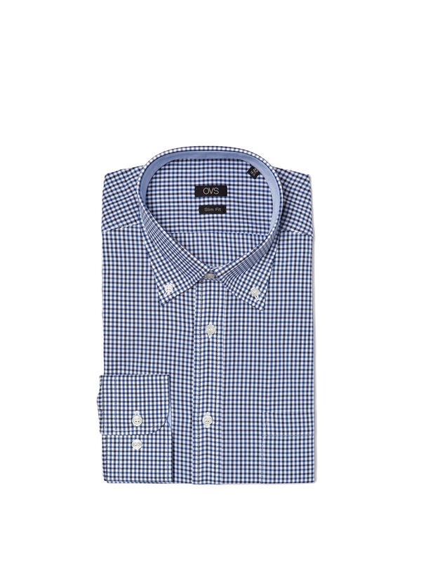 Slim fit check shirt | OVS