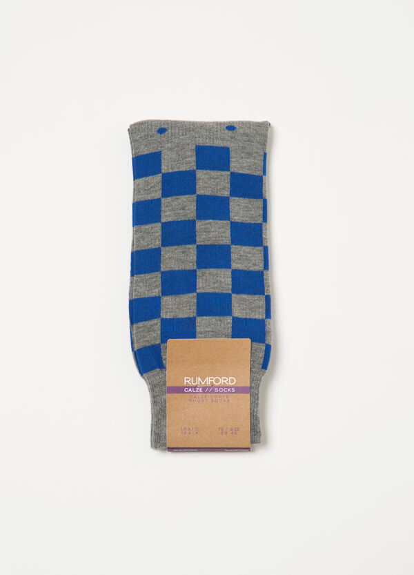 Stretch short socks with Rumford pattern | OVS