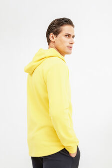 OVS Active Sport Training sweatshirt, Yellow, hi-res