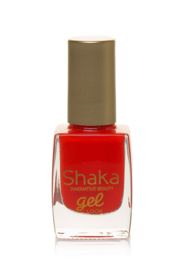 Gel look nail polish, Coral Pink, hi-res