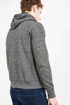 G&H hoodie with hood and drawstring, Smoke Grey, hi-res