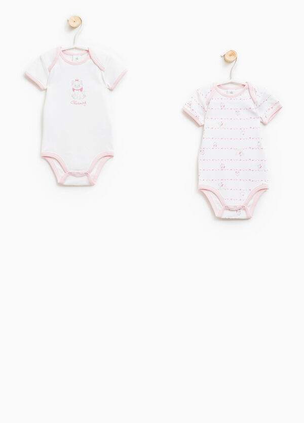 The Aristocats two-pack animal pattern bodysuits | OVS
