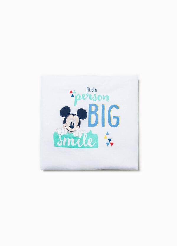 Coperta con patch Mickey Mouse | OVS