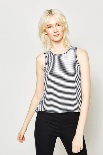 Striped stretch top