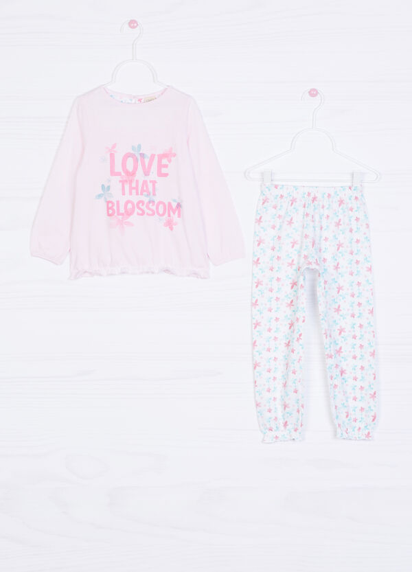 100% cotton printed pyjamas. | OVS