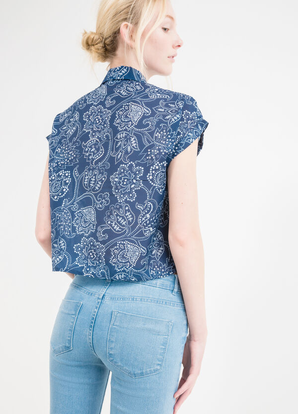 Short-sleeved shirt with print. | OVS