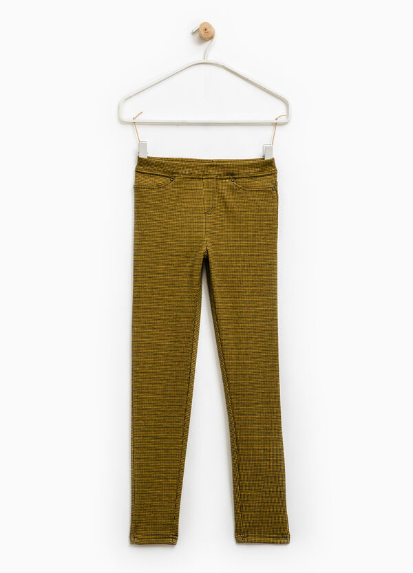 Jeggings stretch stampa all-over | OVS