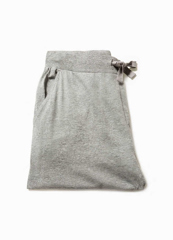 Jersey pyjama trousers with pockets | OVS