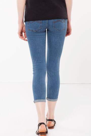 Skinny fit Capri jeans, Medium Wash, hi-res