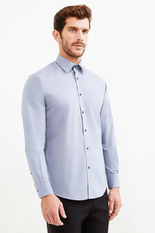 Regular-fit formal shirt, Grey, hi-res