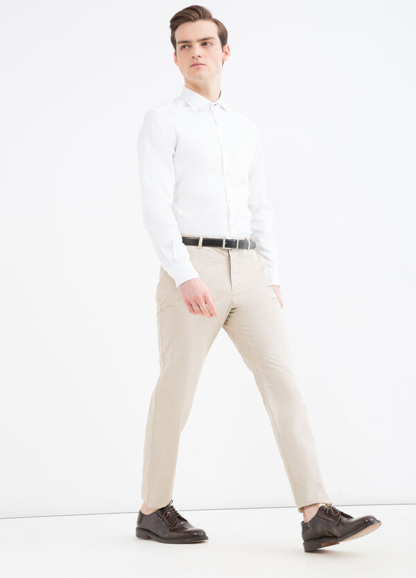 Rumford 100% cotton trousers | OVS