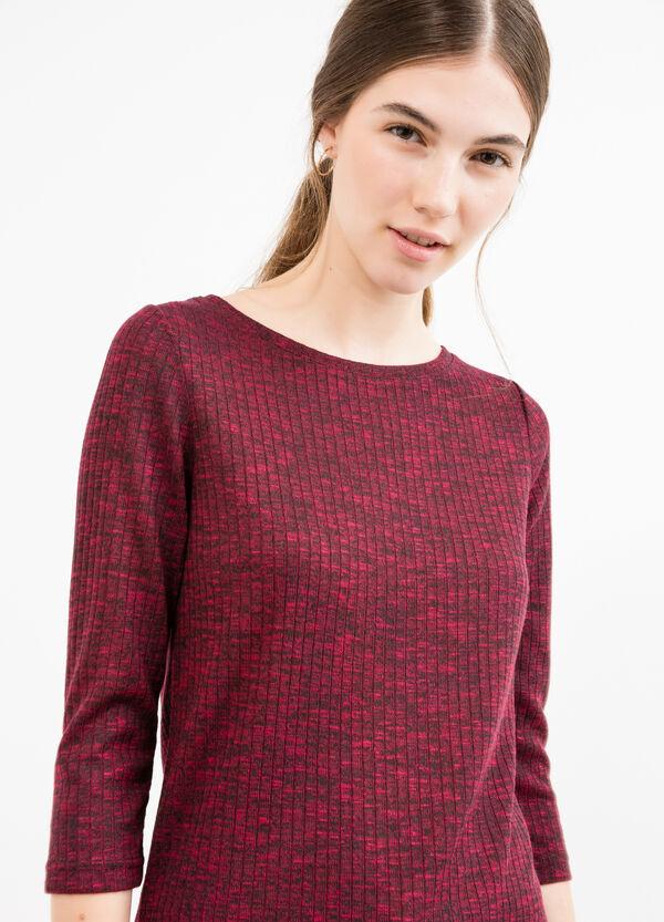 Pullover tricot lungo con spacchi | OVS