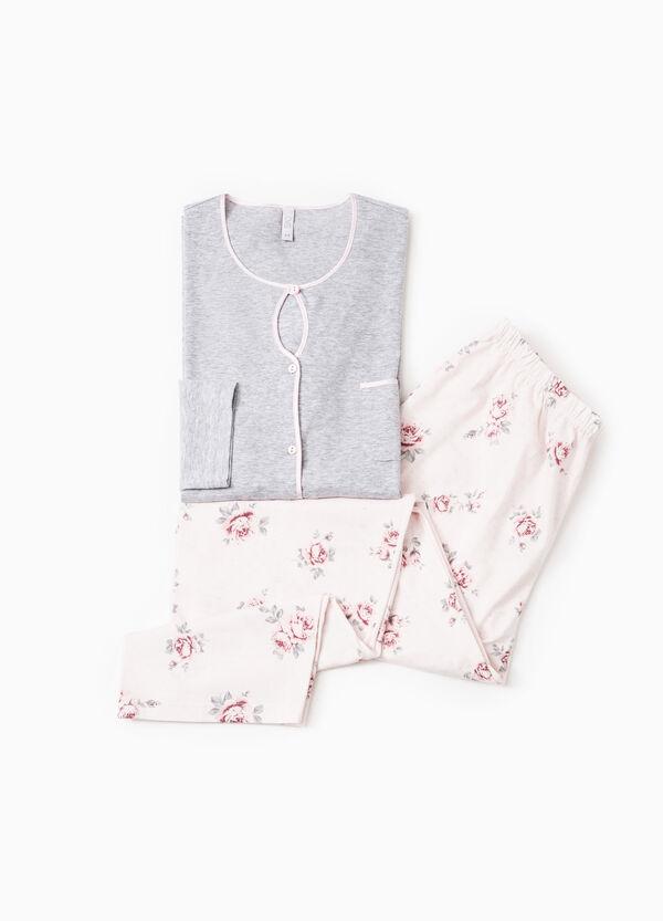 100% cotton floral pyjamas | OVS