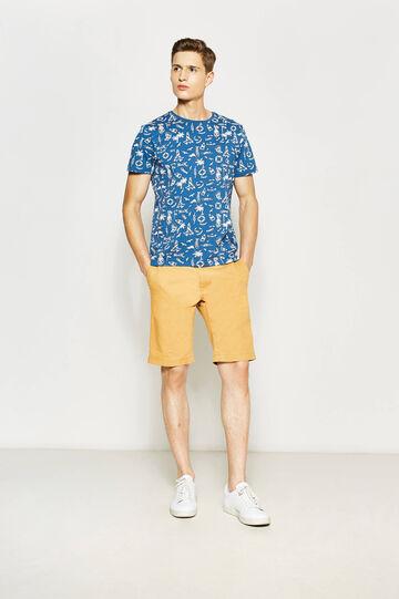 Pure cotton Bermuda shorts