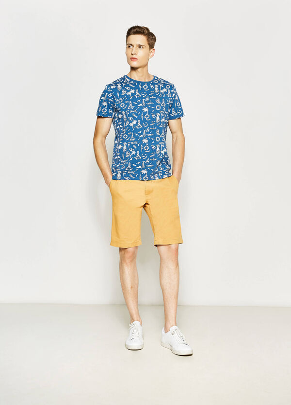 100% cotton Bermuda shorts | OVS