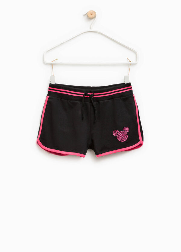 Mickey Mouse shorts with diamantés | OVS