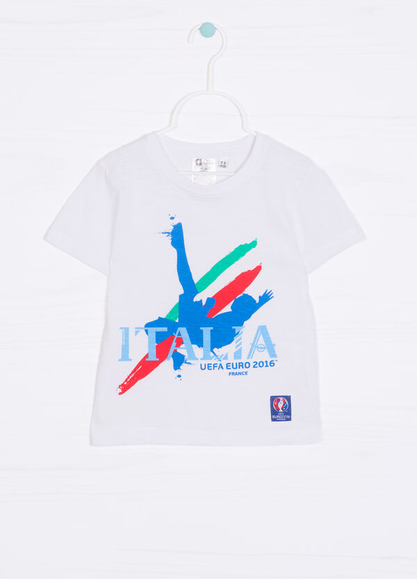 T-shirt with UEFA Euro 2016 patch | OVS