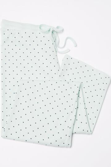 Pantaloni pigiama cotone con stampa