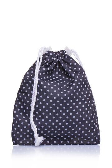 Sacchetto waterproof portatutto, Bianco/Nero, hi-res
