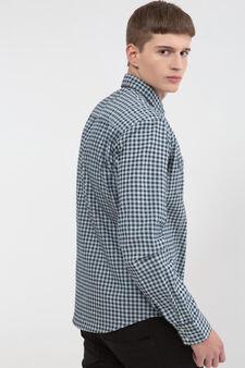 100% cotton check shirt, Multicolour, hi-res