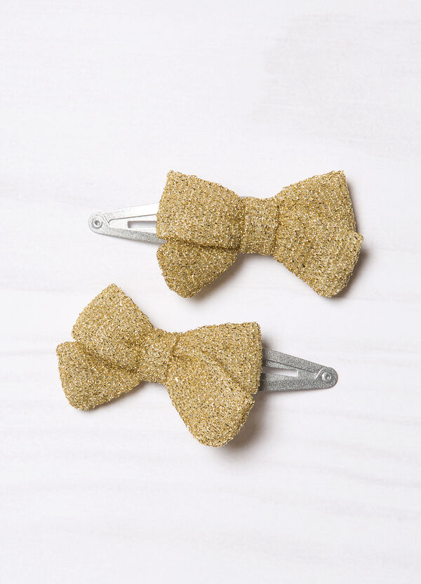 Set of hair clips with bow | OVS