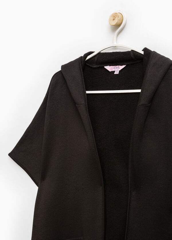 Fleece cape with pockets | OVS