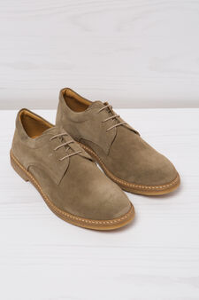 Suede shoes, Taupe Grey, hi-res