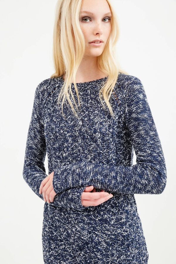 Knitted mélange pullover | OVS