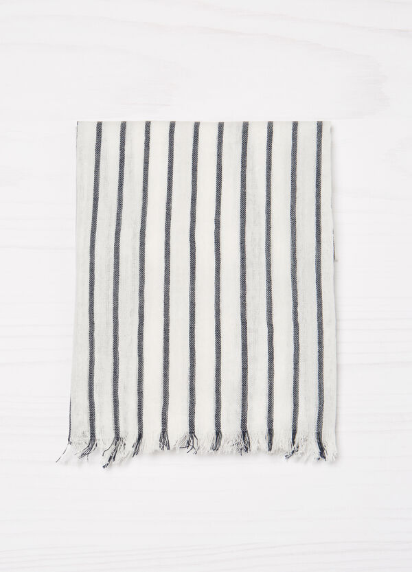 Striped pashmina in 100% viscose | OVS