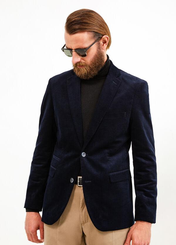 Elegant 100% cotton jacket with lapels | OVS