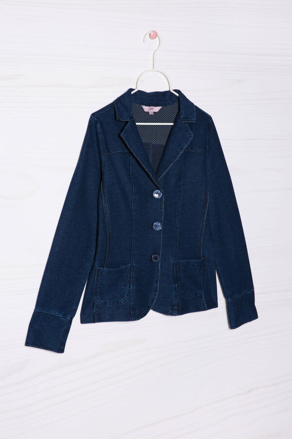 Mixed stretch cotton jacket | OVS