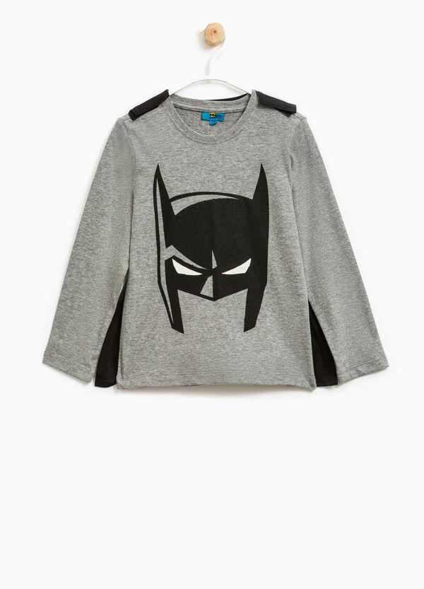 Batman print stretch T-shirt with cape | OVS