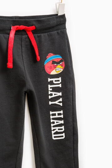 Joggers with Angry Birds print, Grey, hi-res