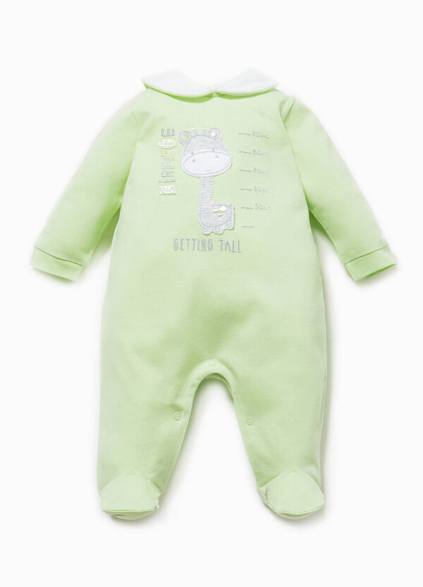 Onesie with round collar and feet | OVS