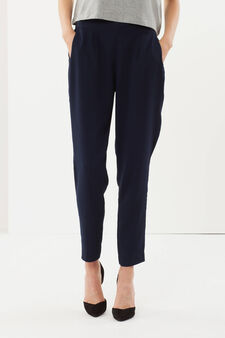 Long trousers, Blue, hi-res