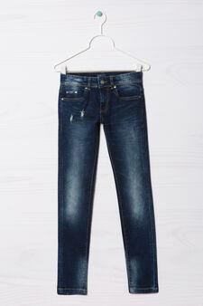 Jeans slim fit Blue Black, Blu scuro, hi-res