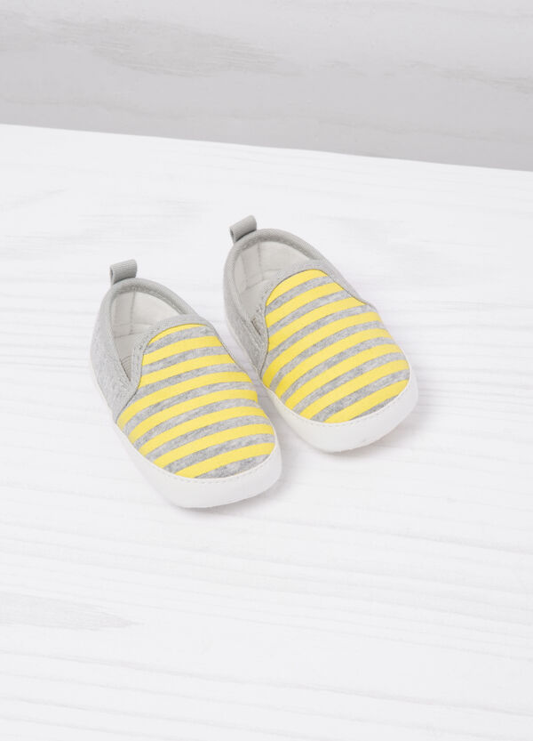Striped patterned shoes | OVS