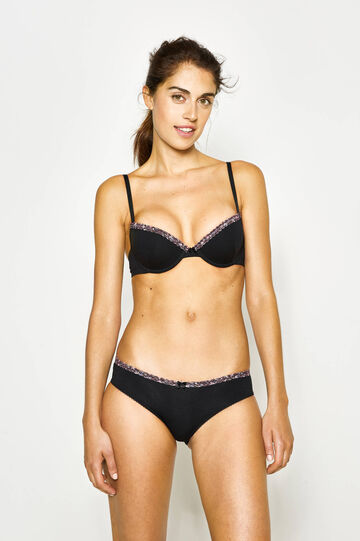 Two-pack bras with underwire and lace
