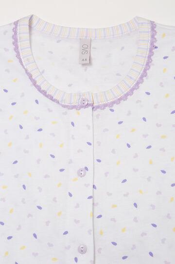 100% cotton printed pyjamas, White, hi-res