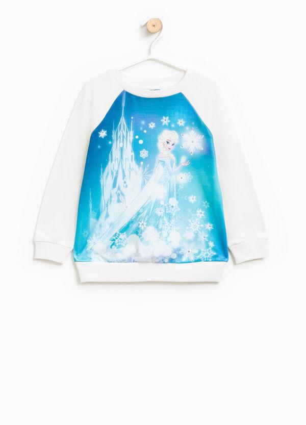 Sudadera de algodón con estampado grande de Frozen | OVS
