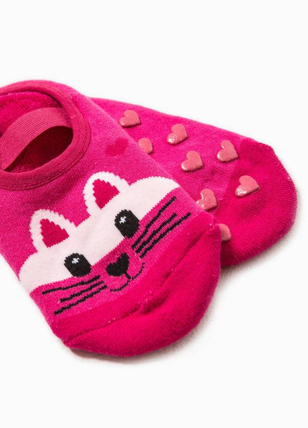 Animal embroidered slipper socks | OVS