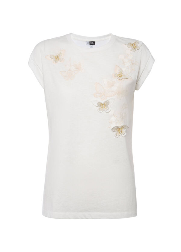 OVS Arts of Italy T-shirt with 3D butterflies | OVS