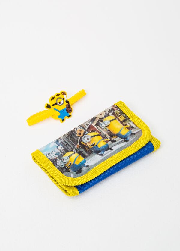 Minions wallet and bracelet set | OVS