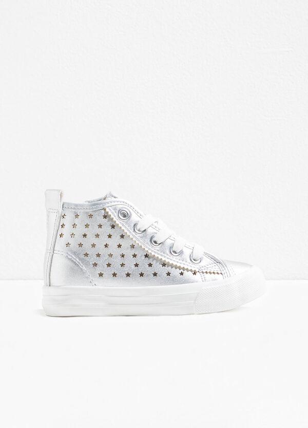 Sneakers alte fantasia a stelle | OVS