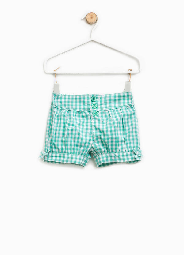 Check shorts with bows | OVS